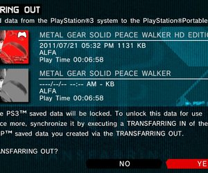 Metal Gear Solid HD Collection Screenshots