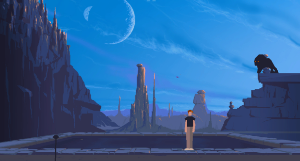 Another World iOS screenshots