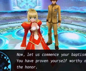 Fate/Extra Screenshots