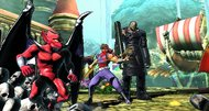 Ultimate Marvel vs. Capcom 'Vita' Screenshots