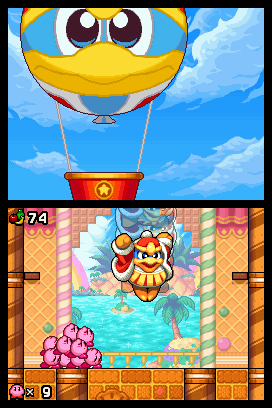 Kirby Mass Attack Chat