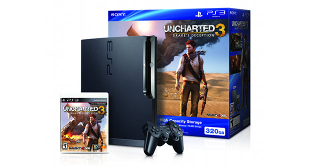 Sony to release PlayStation 3 Uncharted 3 bundle