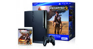Uncharted 3 PS3 console bundle swinging in