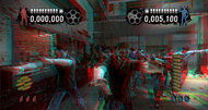 House of the Dead: Overkill - Extended Cut anaglyphic 3D screens