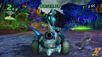 Ben 10 Galactic Racing Screenshots