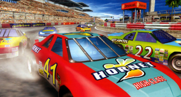 Daytona USA header