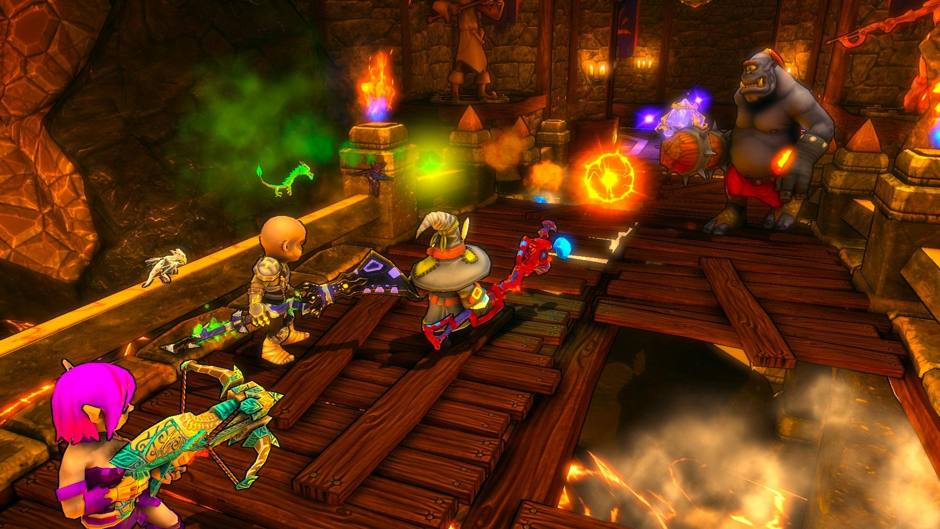 Dungeon defenders screenshots video game news videos and file downloads for pc and console - Dungeon defenders 2 console ...
