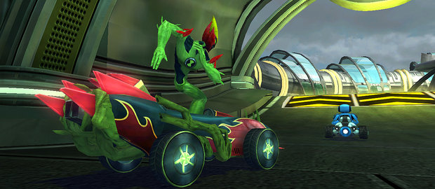 Ben 10 Galactic Racing News