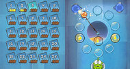 Cut the Rope DSiWare screenshots