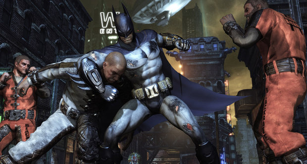 Batman: Arkham City launch screenshots