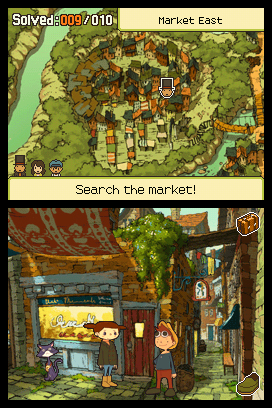 Professor Layton & the Last Specter Screenshots