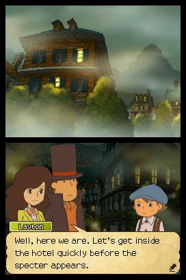 Professor Layton & the Last Specter Screenshots