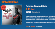 Batman Beyond skin is NOS bonus