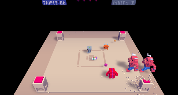 Voxatron screenshots