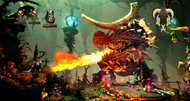 Trine 2 launch trailer swings into action