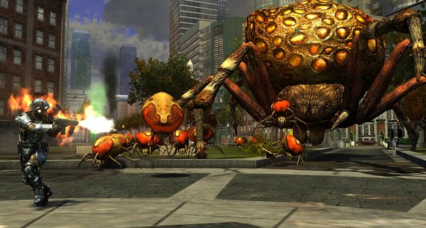 Earth Defense Force: Insect Armageddon PC screenshots
