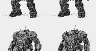 MechWarrior Online 'Atlas Mech' Concept Art