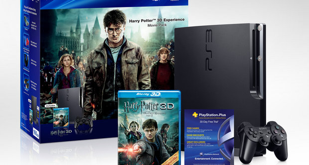 Harry Potter 3D Experience Movie Pack and PS3 Bundle