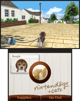Nintendogs + Cats: French Bulldog & New Friends Screenshot from Shacknews