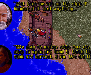Ultima VII: The Black Gate Screenshots