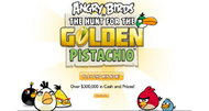 Angry Birds: The Hunt for the Golden Pistachio launches today, optimized for Google Chrome
