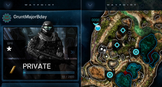 Halo Waypoint 'ATLAS' App
