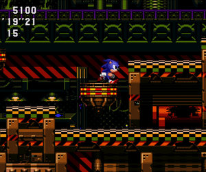 Sonic CD Screenshots