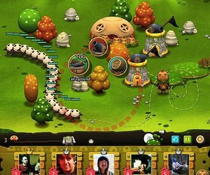 PixelJunk Monsters Social Chat