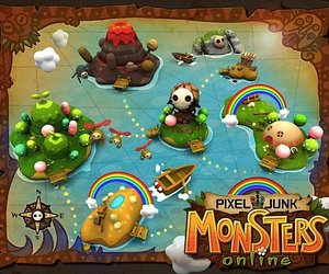 PixelJunk Monsters Social Screenshots