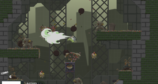 Dustforce Jan 2012 screenshots