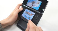 Nintendo 3DS plastic stand included with Japanese Kid Icarus