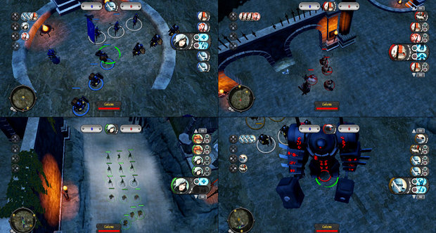 Under Siege four player screenshot