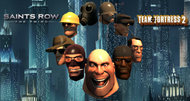 Team Fortress 2-inspired headgear coming to Saints Row: The Third