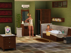 The Sims 3 Master Suite Stuff Screenshot from Shacknews