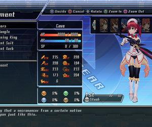 Hyperdimension Neptunia Mk2 Screenshots