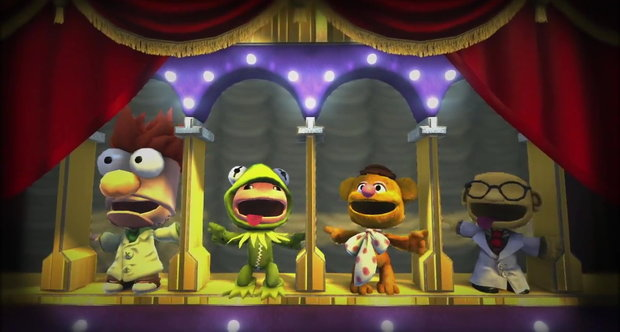 LittleBigPlanet 2 The Muppets Premium Level Kit