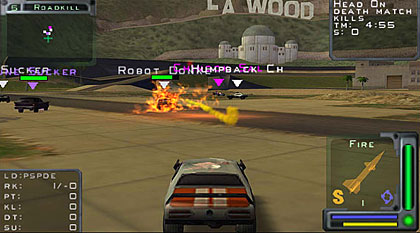 Twisted Metal Black Videos
