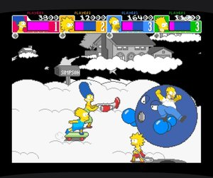 The Simpsons Arcade Game Chat