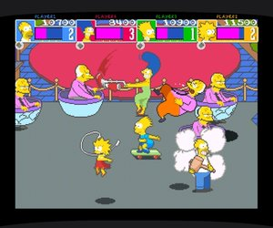 The Simpsons Arcade Game Videos