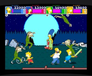 The Simpsons Arcade Game Screenshots