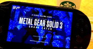 Metal Gear Solid HD Collection adds rear touch controls on Vita