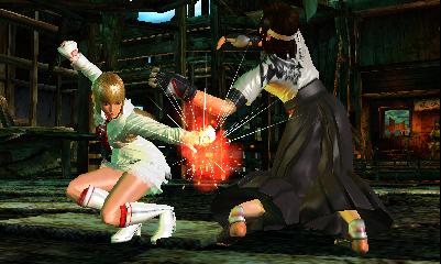 Tekken 3D Prime Edition Chat
