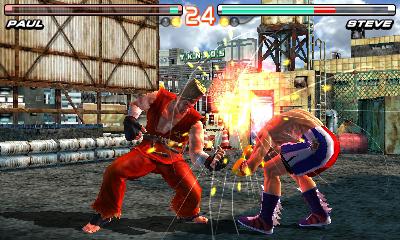 Tekken 3D Prime Edition Screenshots
