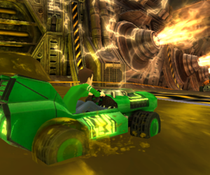 Ben 10 Galactic Racing Screenshots