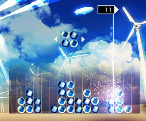 Lumines: Electronic Symphony Screenshots
