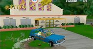 Simpsons Road Rage screenshots