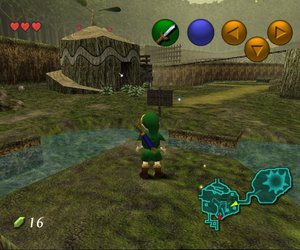 Legend of Zelda: Ocarina of Time Screenshots