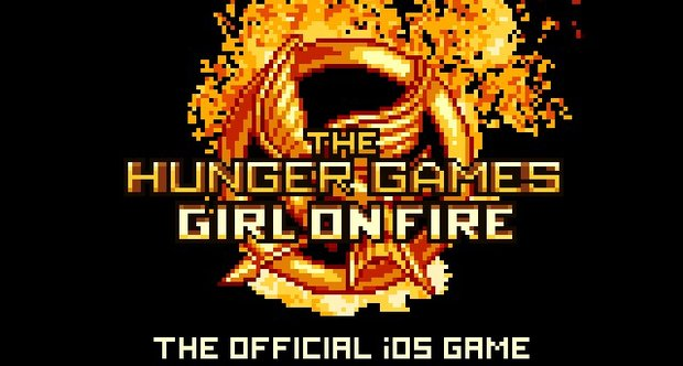 The Hunger Games: Girl on Fire title