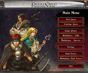 Puzzle Quest: Challenge of the Warlords Screenshots