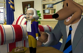 Sam & Max Season 1 Episode 104: Abe Lincoln Must Die! Screenshot from Shacknews